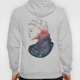 Supernova Girl Watercolor Hoody
