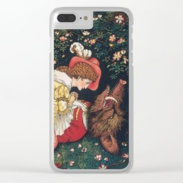 Beauty and the Beast Clear iPhone Case