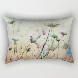 Splash Of Nature Rectangular Pillow