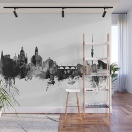 Dresden Germany Skyline Wall Mural