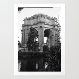 Palace of Fine Arts, San Francisco Art Print