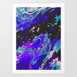 SAVE YOURSELF Art Print
