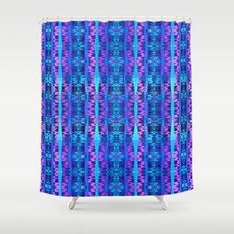 Glitch No. 6 Shower Curtain