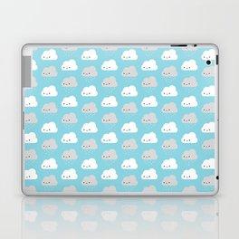Happy and Sad Kawaii Clouds Laptop & iPad Skin