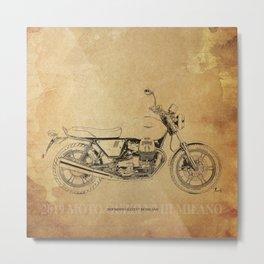 237-2019 Moto Guzzi V7 III Milano gift ideas Metal Print