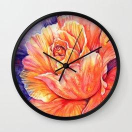 Vivid Rhapsody Wall Clock