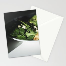 Nutritious breakfast Stationery Cards