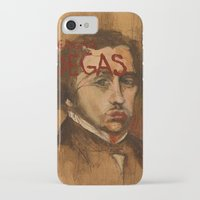 degas iPhone & iPod Cases featuring 50 Artists: Edgar Degas by Chad Beroth