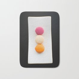 The Art of Food Macarons Bath Mat