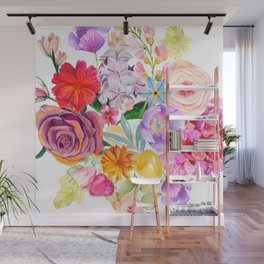 Spring Bouquet in the Garden Wall Mural