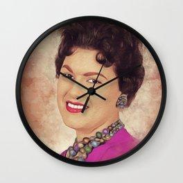 Patsy Cline, Music Legend Wall Clock