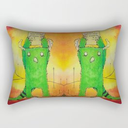 The Sorry Monster Rectangular Pillow