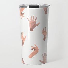 Touching Hands Travel Mug