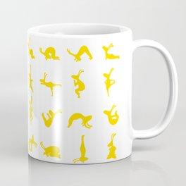 K's Yogi Bunnies Yellow Coffee Mug