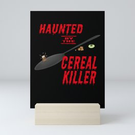 The long, long shadow of the cereal killer Mini Art Print