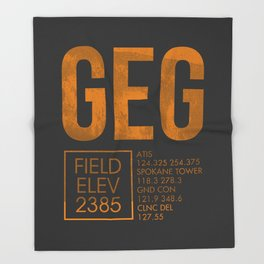 GEG II Throw Blanket