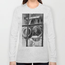 New Orleans - Window to a French Quarter Gourmet Kitchen Long Sleeve T-shirt