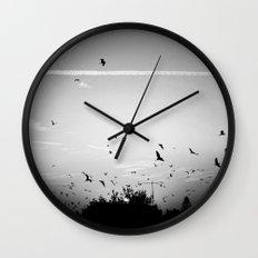 Migrating birds #02 Wall Clock
