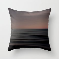 Waves of Calm  Throw Pillow