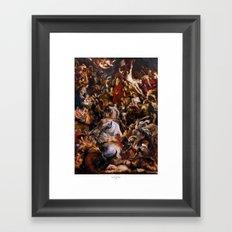 Re, Dei E Bestie Framed Art Print