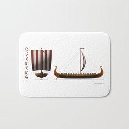 Oseberg Viking Ship Bath Mat