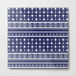 Boho Crosses Metal Print