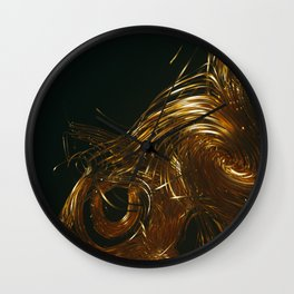 NU_GOLD Wall Clock