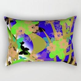 Flowers 113 Rectangular Pillow