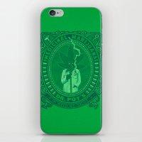 marijuana iPhone & iPod Skins featuring Medicinal Marijuana by victor calahan