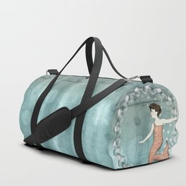 Mermaid Wreath Duffle Bag