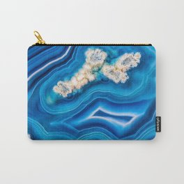 Blue Island Agate Carry-All Pouch