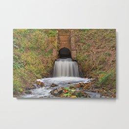 Swains Rustic Falls Metal Print