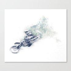 Flying High_Blue Canvas Print