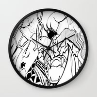 safari Wall Clocks featuring Safari by Nozza