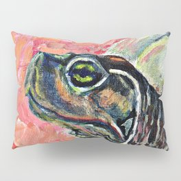Abstract turtle painting Pillow Sham