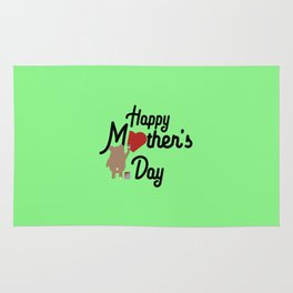 Happy Mothers day T-Shirt for all Ages Dg6w3 Rug