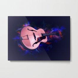 Guitar Art Metal Print
