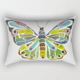 Colorful Butterfly Rectangular Pillow