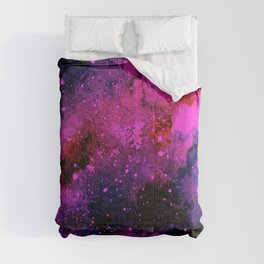 Pink Galaxy Comforters