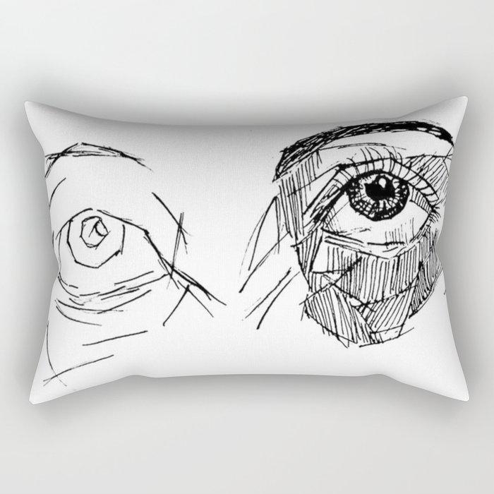 a gift Rectangular Pillow