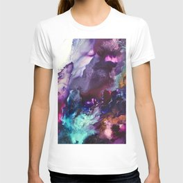 Expressive Flow 1 - Mixed Media Pain T-shirt