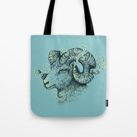 Big Horn Invocation Tote Bag