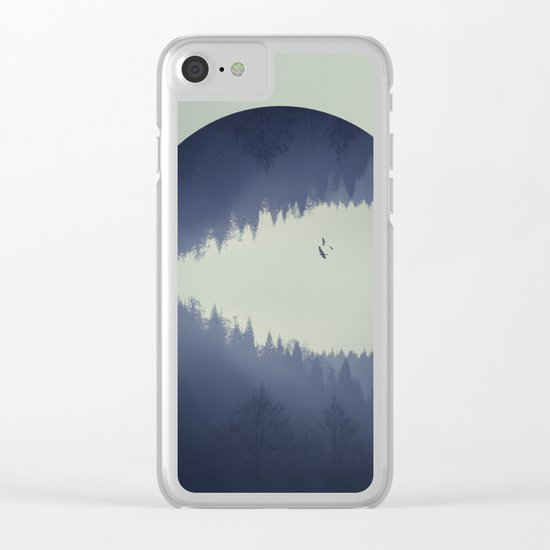Spaces V - let it go Clear iPhone Case