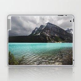 Mountain Photography Landscape Glaciers Turquoise Lake Water Beautiful Nature Laptop & iPad Skin