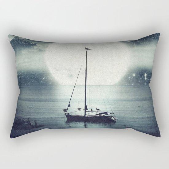 A Journey Under A Starry Night Sky Rectangular Pillow