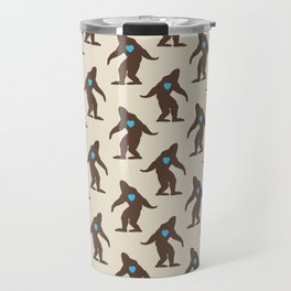 Bigfoot LOVE Travel Mug