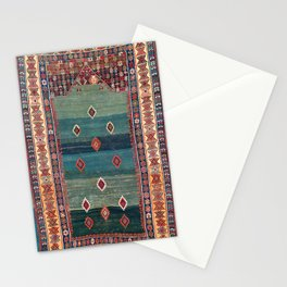 Sivas Antique Turkish Niche Kilim Print Stationery Cards