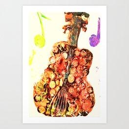 Re-purposed For Music Art Print