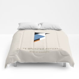 White-Breasted Nuthatch Comforters