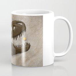 Tyrannosaurus Rex with Orange to scale Coffee Mug